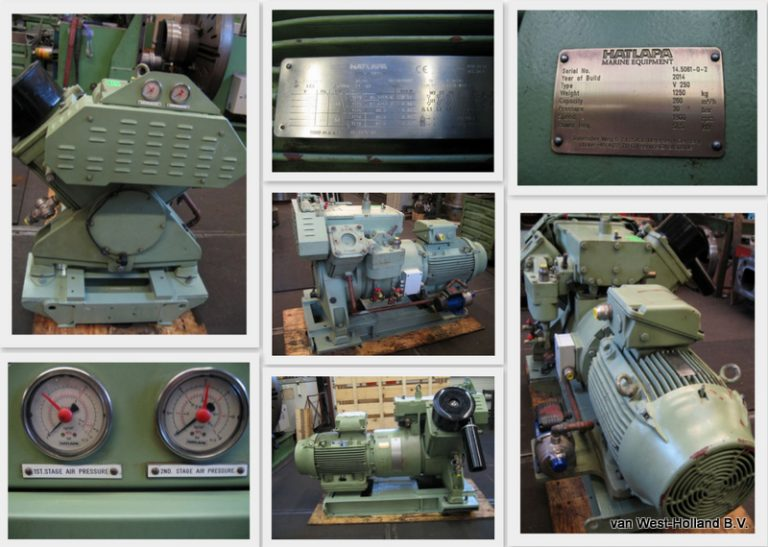 Hatlapa V250 air compressor