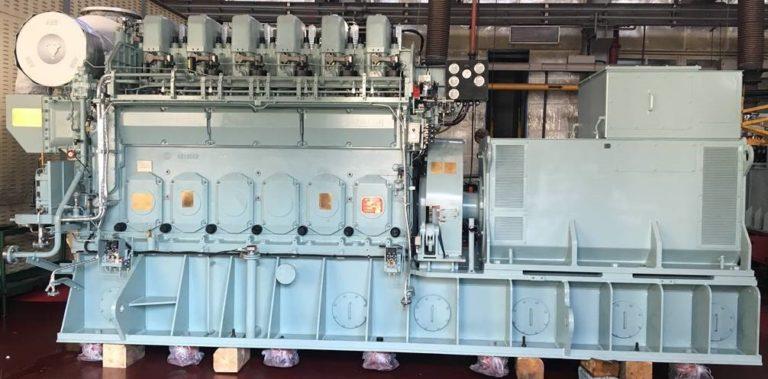 Daihatsu Anqing 6DK20e Diesel Generator