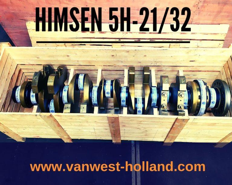 Himsen 5H21/32 crankshaft